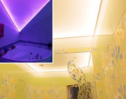 LED-подсветка потолка