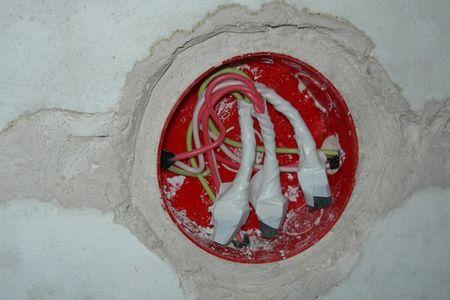 Место соединения проводов