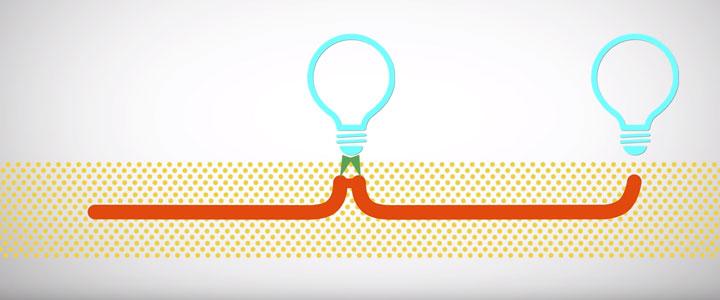 паралельная схема подключения уличных светильников