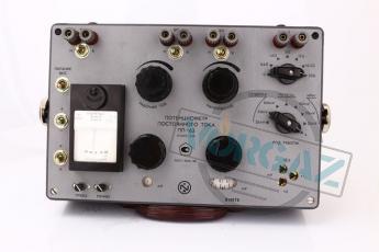 Потенциометр постоянного тока ПП-63 фото1