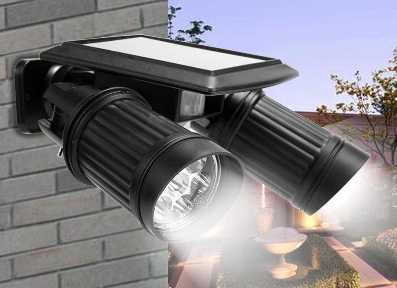 Уличный светильник с датчиком движения