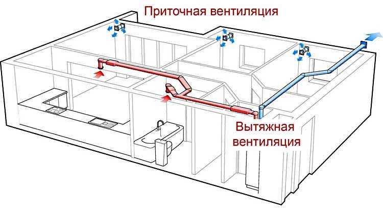 Принцип организации вентиляции дома или квартиры. Вентиляция гардеробной - часть этой системы