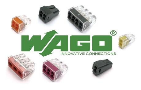 Какие бывают клеммы WAGO?
